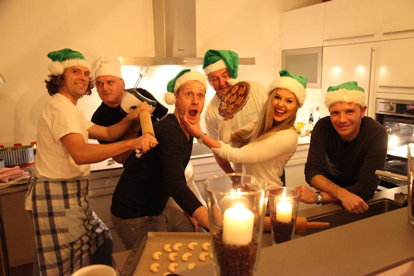 * * * * die Funrise Wehnachtsbäckerei * * * *